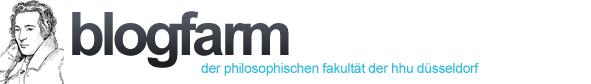Blogfarm - Die Blogfarm der Philosophischen Fakultät HHU